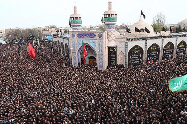 اردبیل میں حسینی عزاداروں کا اجتماع