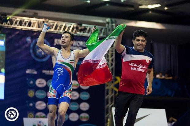 Iran GR wrestling team reclaimed title of Junior World C'ships