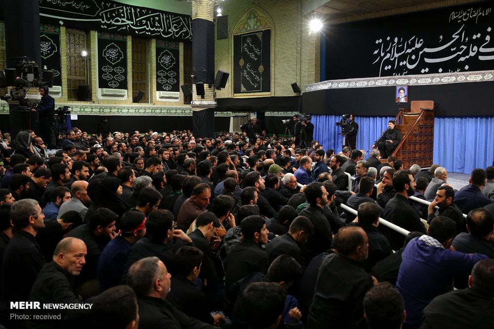 Leader attends Muharram mourning ceremony on night of Ashura