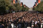 مراسم عزاداری روز عاشورا در قزوین