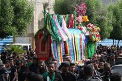 İran'ın güneyinde Aşura matemi