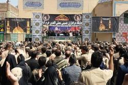 حضور نماینده ولیفقیه در لرستان در جمع عزاداران حسینی جایگاه «مصلای الغدیر»