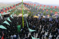 مراسم عزاداری تاسوعای حسینی در آستان مقدس امامزاده یحیی (ع)