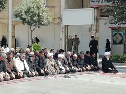 نماز ظهر عاشورا در کرمانشاه اقامه شد
