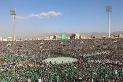 راهپیماییهای بزرگ عاشورای حسینی (ع) در «صعده» و «صنعاء» یمن
