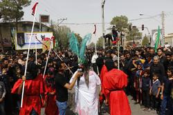 عزاداری روز عاشورا در زرند کرمان