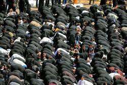 نماز ظهر عاشورا در سنندج اقامه شد