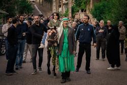 مراسم ذوالجناح در روستای زیدشت طالقان