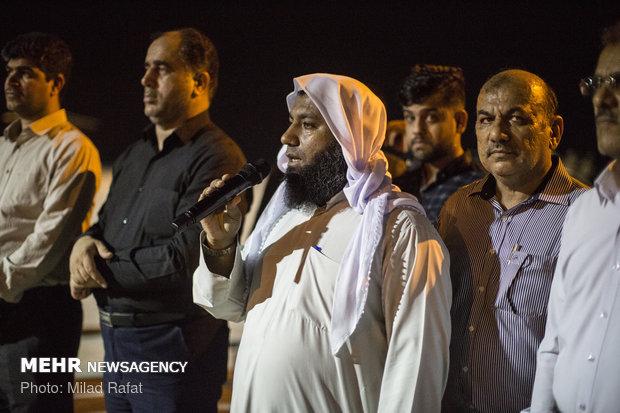 عزاداری برادران اهل سنت بوشهری