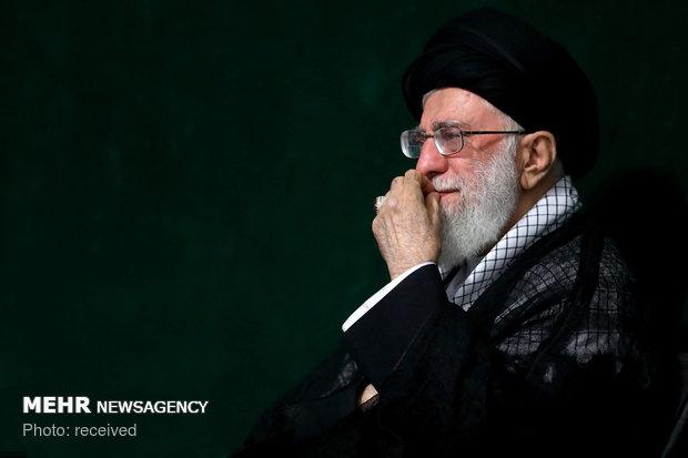 Devrim Lideri'nin huzurunda Aşura gecesi merasimi