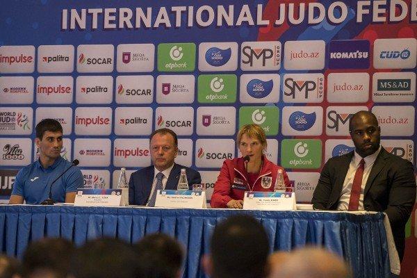 جودو قهرمانی جهان- باکو؛ تیم متحد دو کره در رقابتهای تیمی/«رنر» مسئول کمیته ورزشکاران