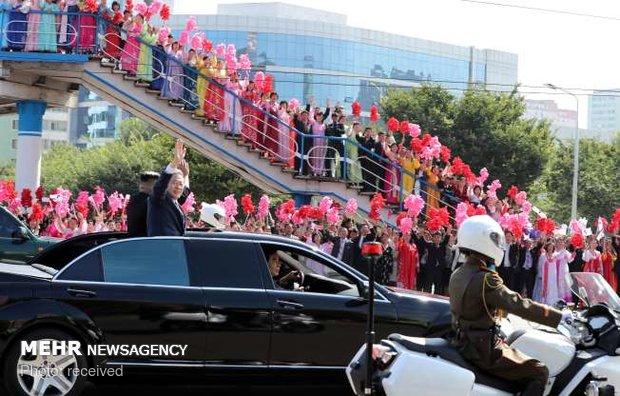 سفر رئیس جمهوری کره جنوبی به کره شمالی