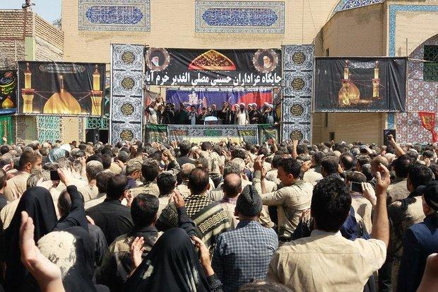 نماینده ولیفقیه در لرستان در جمع عزاداران حسینی حضور یافت