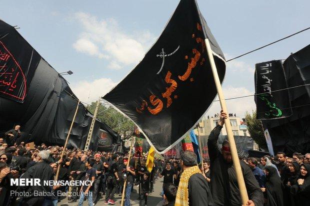 عزادرای روز عاشورای حسینی در امامزاده علیاکبر چیذر