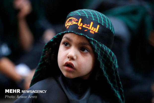 مراسم عاشورای حسینی(ع) در ضاحیه جنوبی بیروت