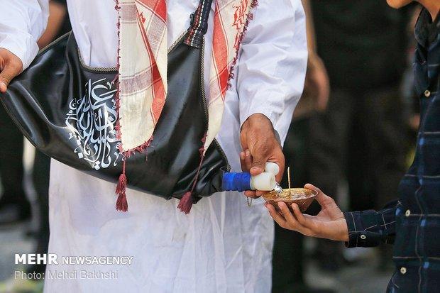مراسم عزاداری روز عاشورا در حرم حضرت معصومه (س)