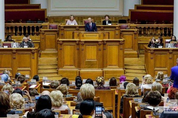 Iranian MP attends 2nd Eurasian Women's Forum in Russia