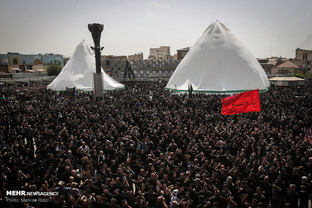 Ashura mourning ceremony in Tehran