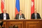 وزراء خارجية إيران وروسيا وتركيا يجتمعون في نيويورك لبحث الشأن السوري