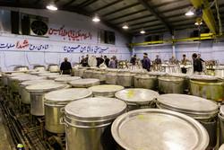 تهیه و توزیع ۲۵۰۰۰ غذا در حسینیه اعظم کرشته شهریار