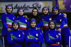 سيدات المنتخب الايراني يعتلين عرش البطولة في تورنومنت بيروت الدولي للمصارعة الحرة