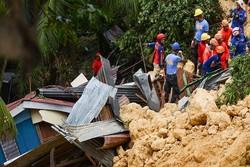 انڈونیشیا میں لینڈ سلائیڈنگ سے 2 افراد ہلاک، 41 افراد لاپتہ