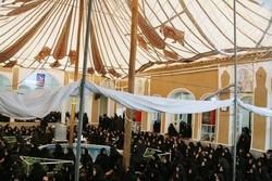 عزاداری مردم کرمان در خانه تاریخی سید خوشرو
