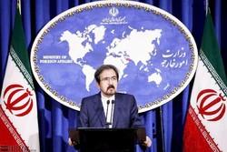المتحدث بإسم الخارجية يعلن عن تضامن إيران مع تنزانيا حكومة وشعبا