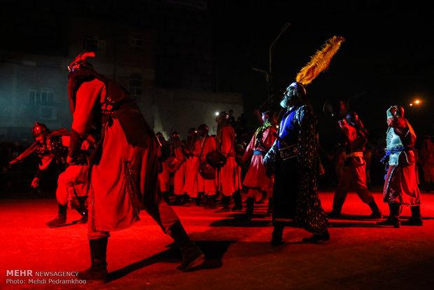 حرق الخبام في مدينة أهواز