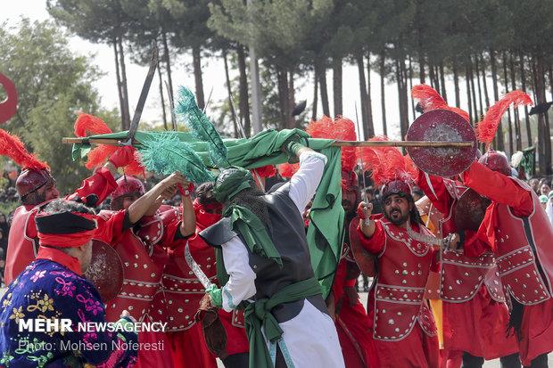 مراسم سنتی تعزیه خوانی در قتلگاه بیرجند