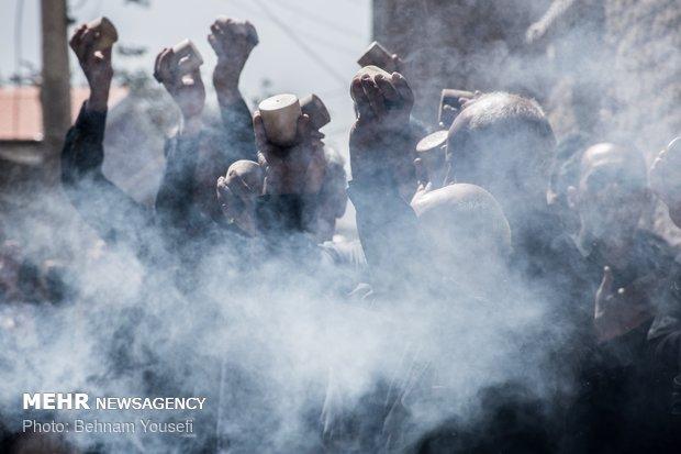 مراسم چغچغه زنی در روستای انجدان اراک