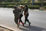 تیراندازی در مراسم رژه نیروهای مسلح اهواز