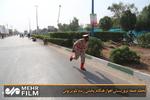 لحظه حمله تروریستی اهواز هنگام پخش زنده تلویزیونی