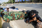 Moment of terrorist attack in Ahvaz during parade of Armed Forces