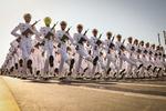 Tahran'da görkemli askeri geçit töreni