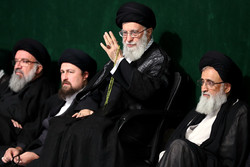 حسینیہ امام خمینی (رہ) میں چھٹی اور آخری شب میں مجلس عزا