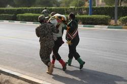 اعتداء إرهابي خلال استعراض عسكري في الأهواز /صور