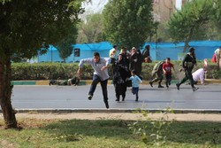 سردیس شهید خردسال حادثه تروریستی اهواز رونمایی شد