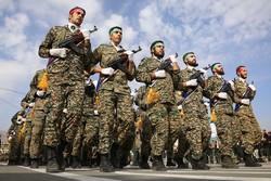 مراسم رژه نیروهای مسلح در همدان برگزار شد
