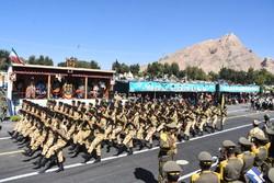 ایران کے مختلف صوبوں میں فوجی پریڈ کی تقریبات(2)
