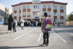 Beginning of school year in Iran