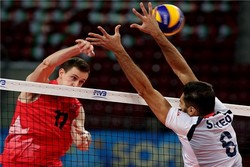 والیبال ایران - کانادا
