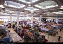 A view of the 22nd Press Exhibition at Tehran's Imam Khomeini Mosalla on November 4, 2016 (IRNA/Mojtaba Mohammadlu)