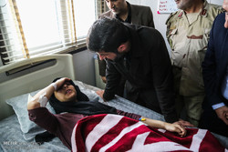 Khuzestan governor gen. visits victims of Ahvaz terrorist attack