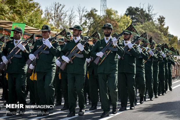 رژه 31 شهریور نیروهای مسلح در شیراز