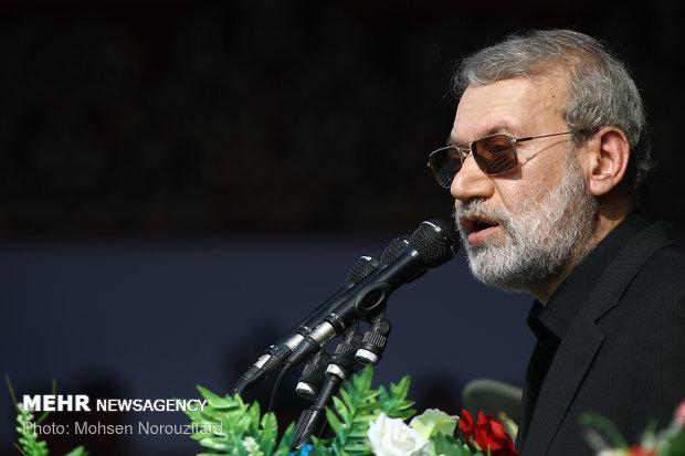 لاريجاني يؤكد على ضرورة عقاب متسببي اعتداء الاهواز الارهابي