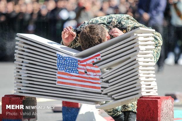 رژه ۳۱ شهریور نیروهای مسلح در استانها - ۳