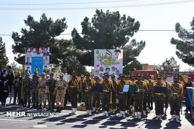 رژه ۳۱ شهریور نیروهای مسلح در شهرضا