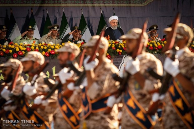 Iran's Armed Forces hold massive parades