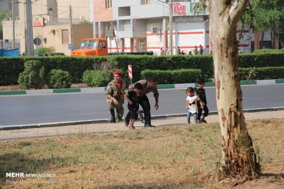 جرئیات حمله تروریستی به رژه نیروهای مسلح در اهواز + تصاویر